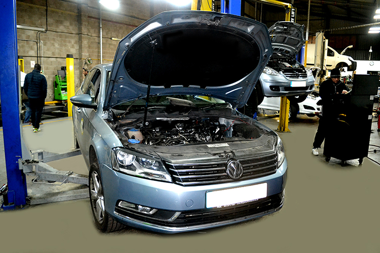 1116 Here we look at some of the Volkswagen car service work we carry out from our garage