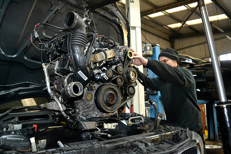 157 Engine enquiries are going through the roof at our specialist garage