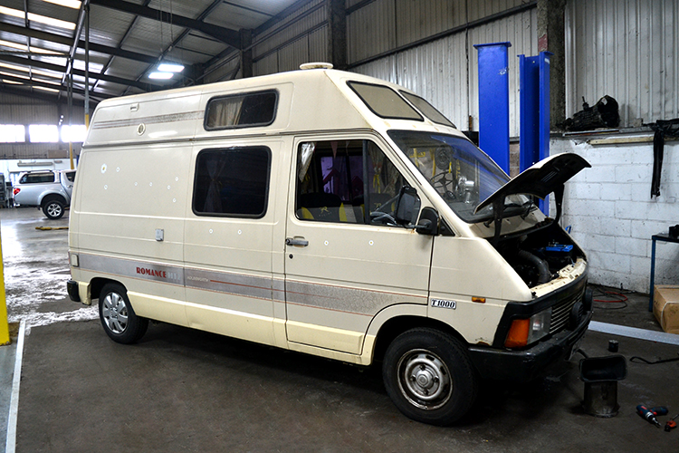 177 We can service campervans from our Cardiff based service garage