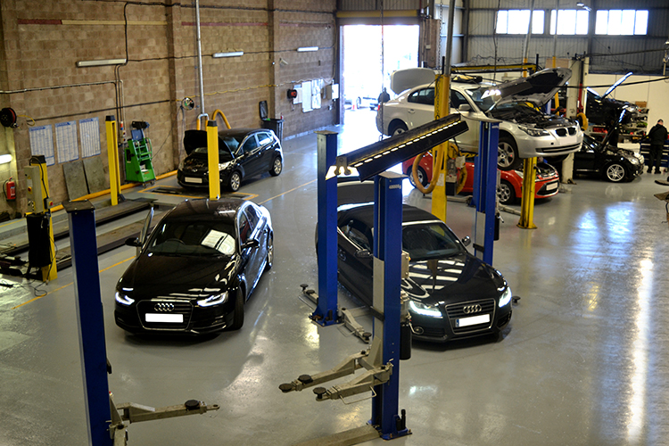 19 We have installed two brand new 3D tracking and wheel alignment ramps