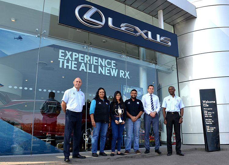216 A1 Diagnostics win the Lexus Cardiff Annual Golf Challenge