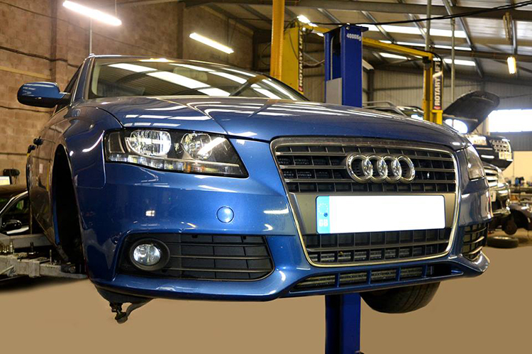 238 Here we look at some of the recent Audi vehicle service work we carry out from our garage
