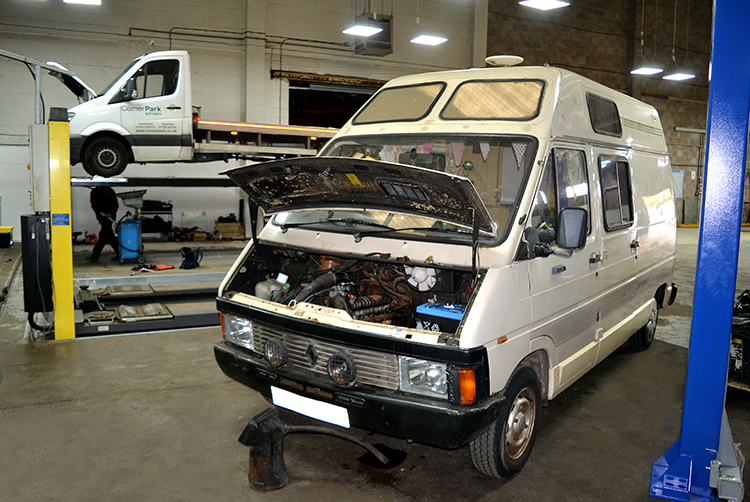 252 We can service campervans from our Cardiff based service garage