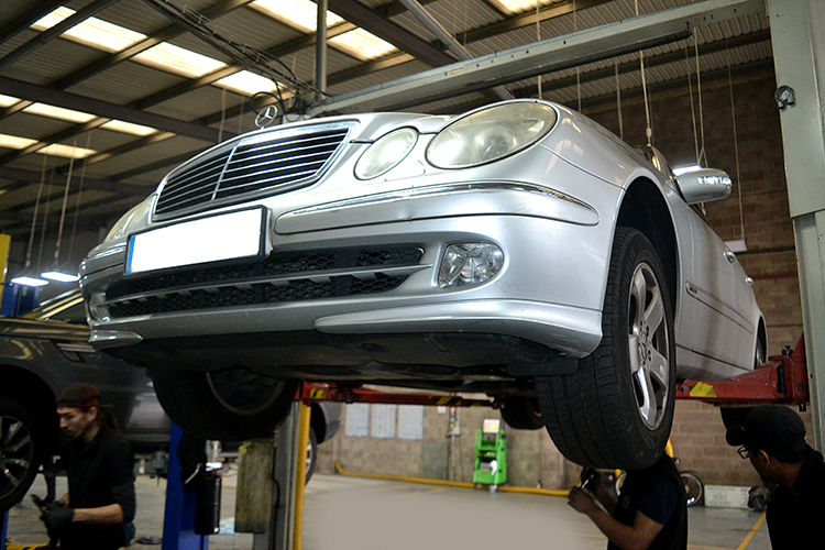 264 Our recent vehicle service work