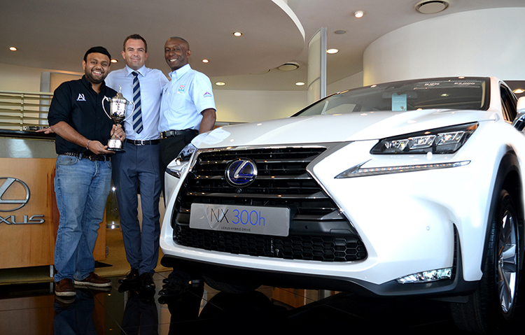314 A1 Diagnostics win the Lexus Cardiff Annual Golf Challenge