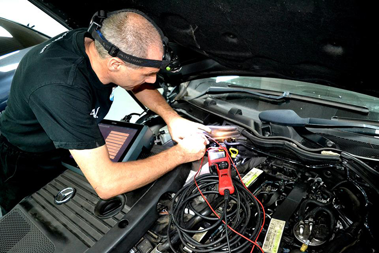 412 We are filling our electronics bay with advanced vehicle diagnostic technology