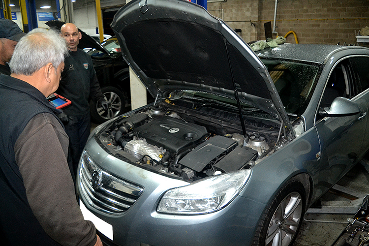 4571 Turbo problems with Vauxhall insignia's