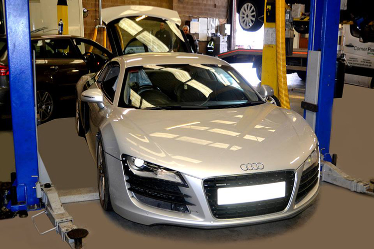 618 Here we look at some of the recent Audi vehicle service work we carry out from our garage