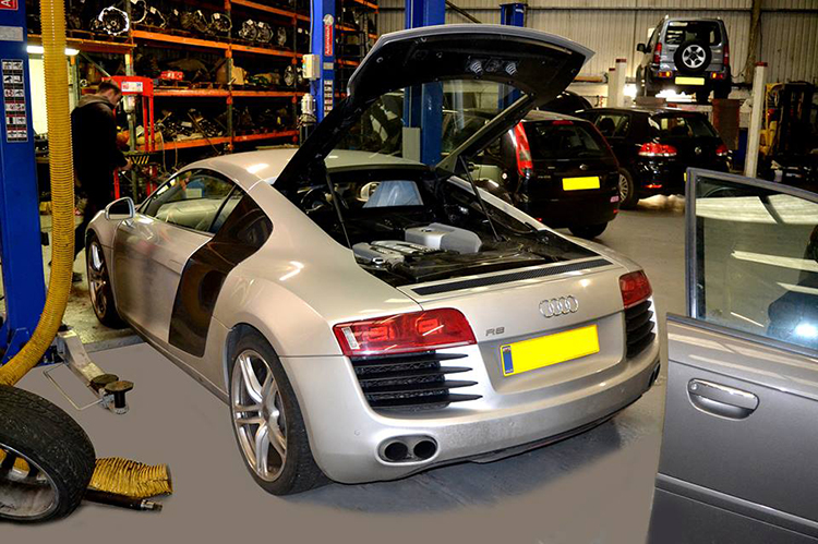717 Here we look at some of the recent Audi vehicle service work we carry out from our garage