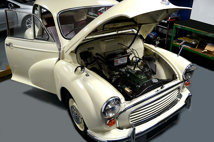 77 We can carry out extensive work on old classic cars and modern day cars