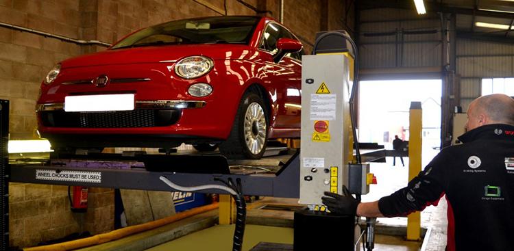 MOT vehicle testing