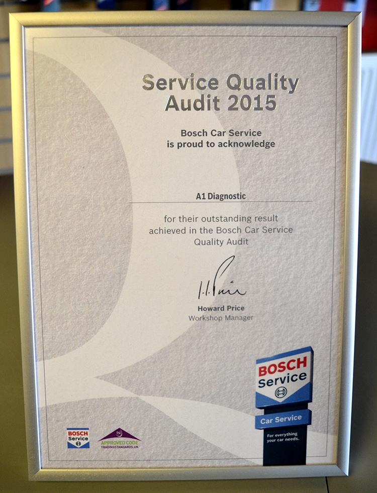DSC 0385 We are a BOSCH vehicle service garage