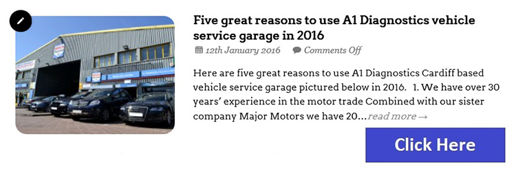 a4 Why you should consider using our vehicle service garage