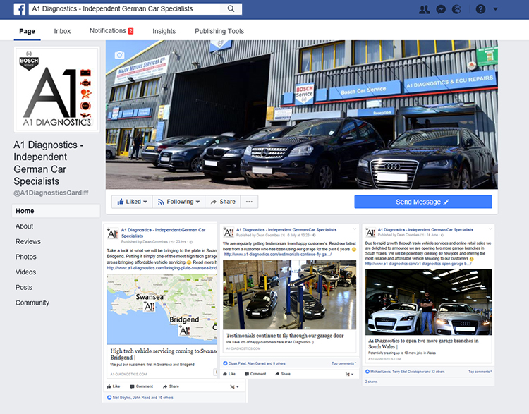 f2 Dont be deceived by garages who have fake Facebook likes on their Facebook page