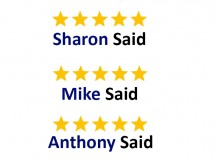 Our five star reviews on our diverse range of vehicle services